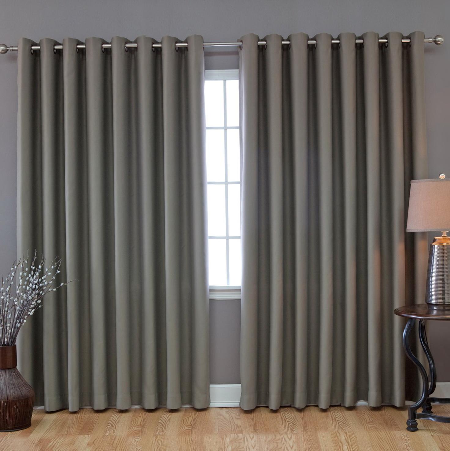 Sliding patio door curtains ideas home design ideas for Door curtain ideas