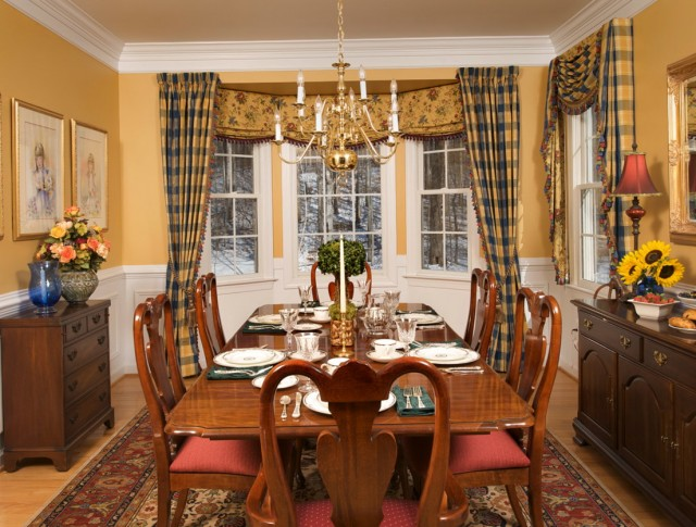Square Bay Window Curtains Ideas