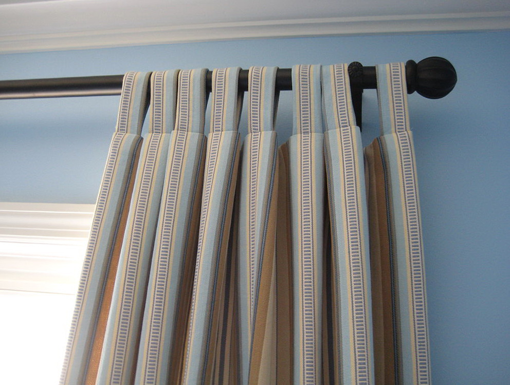 Tab Top Curtain Panels Pattern