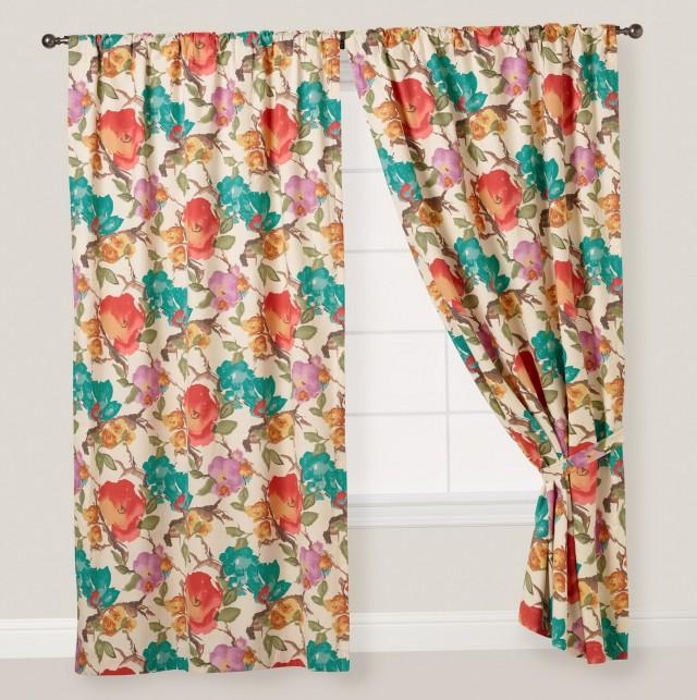 Tab Top Curtain Panels Set
