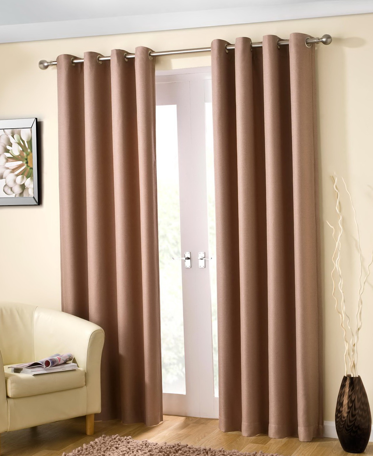 Thermal Lined Curtains 90 X 90
