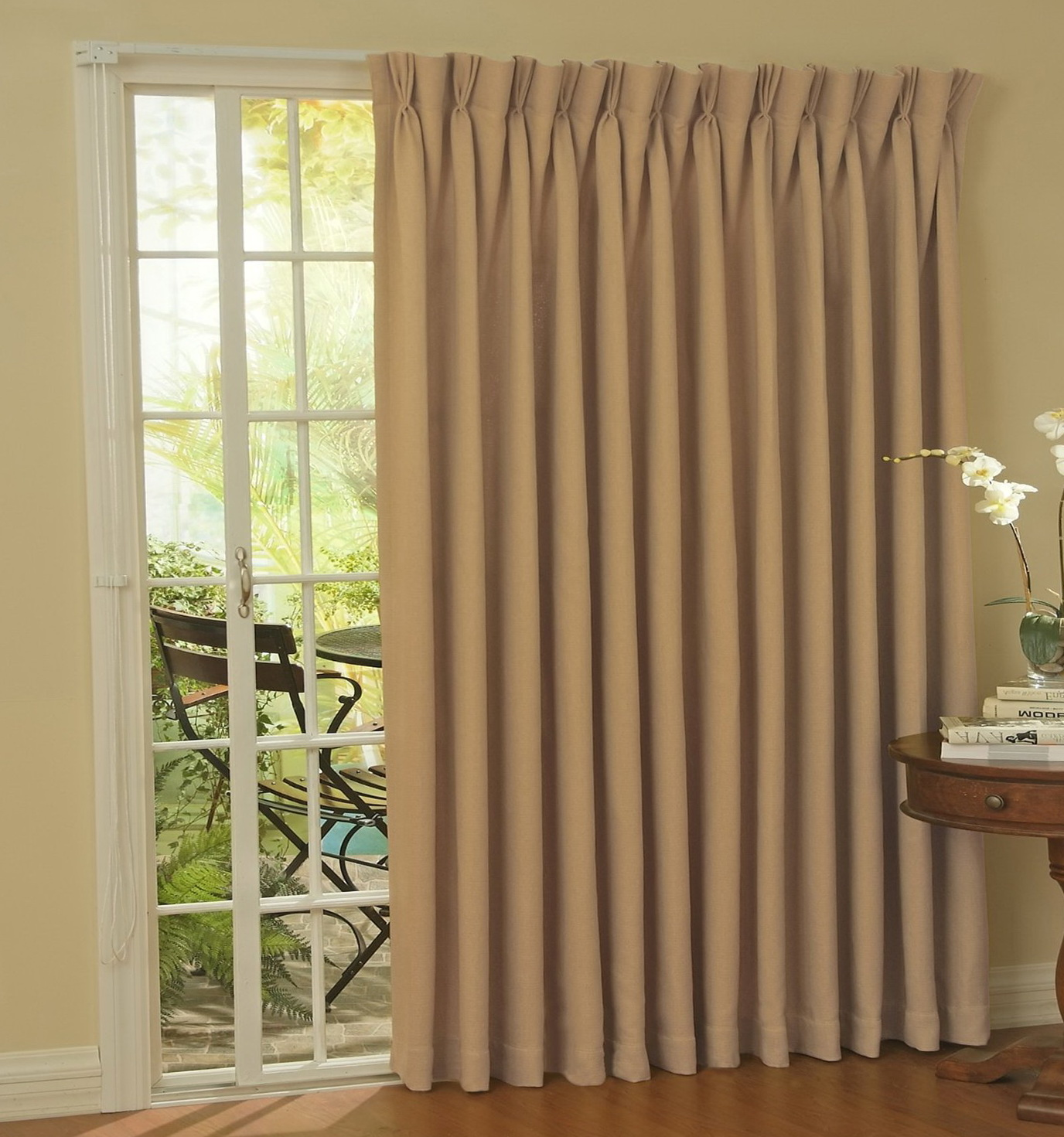 Thermal Lined Curtains For Sliding Glass Doors Home