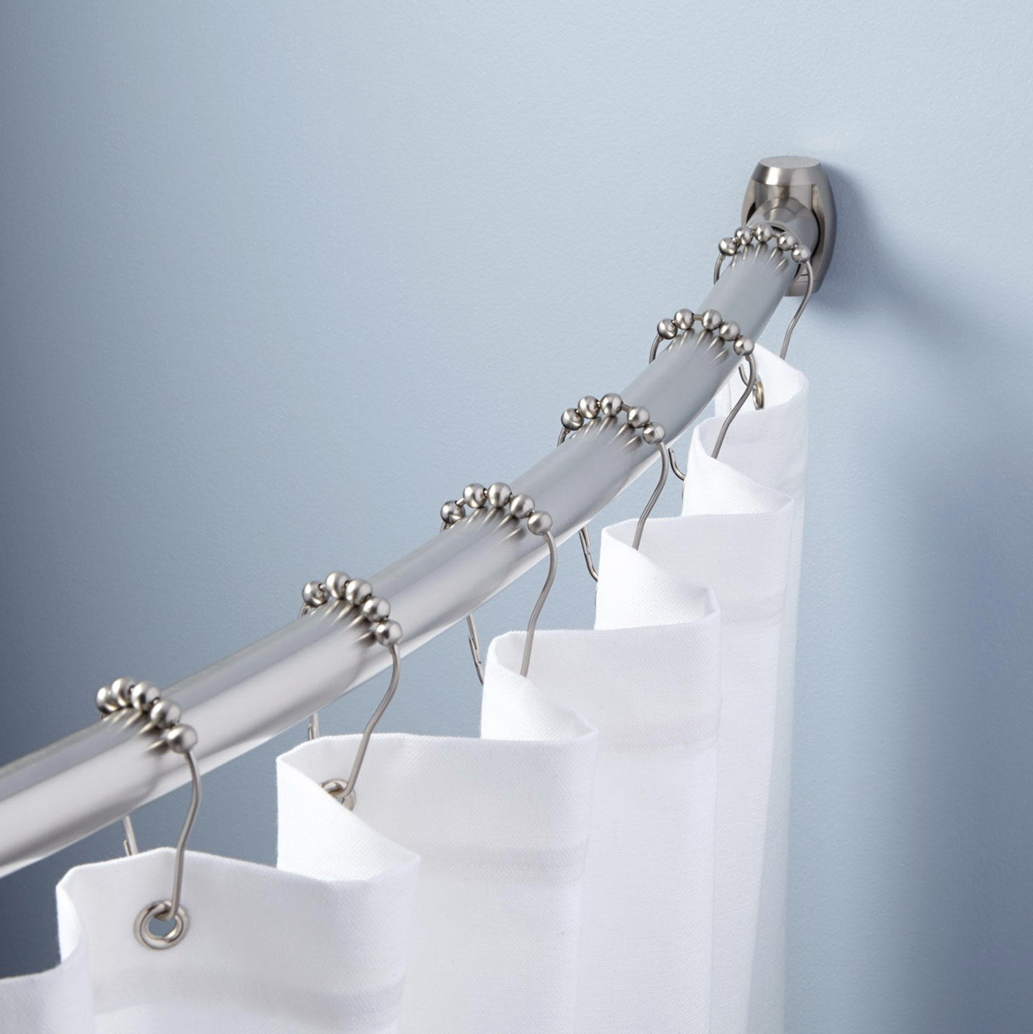 Types Of Shower Curtain Rods