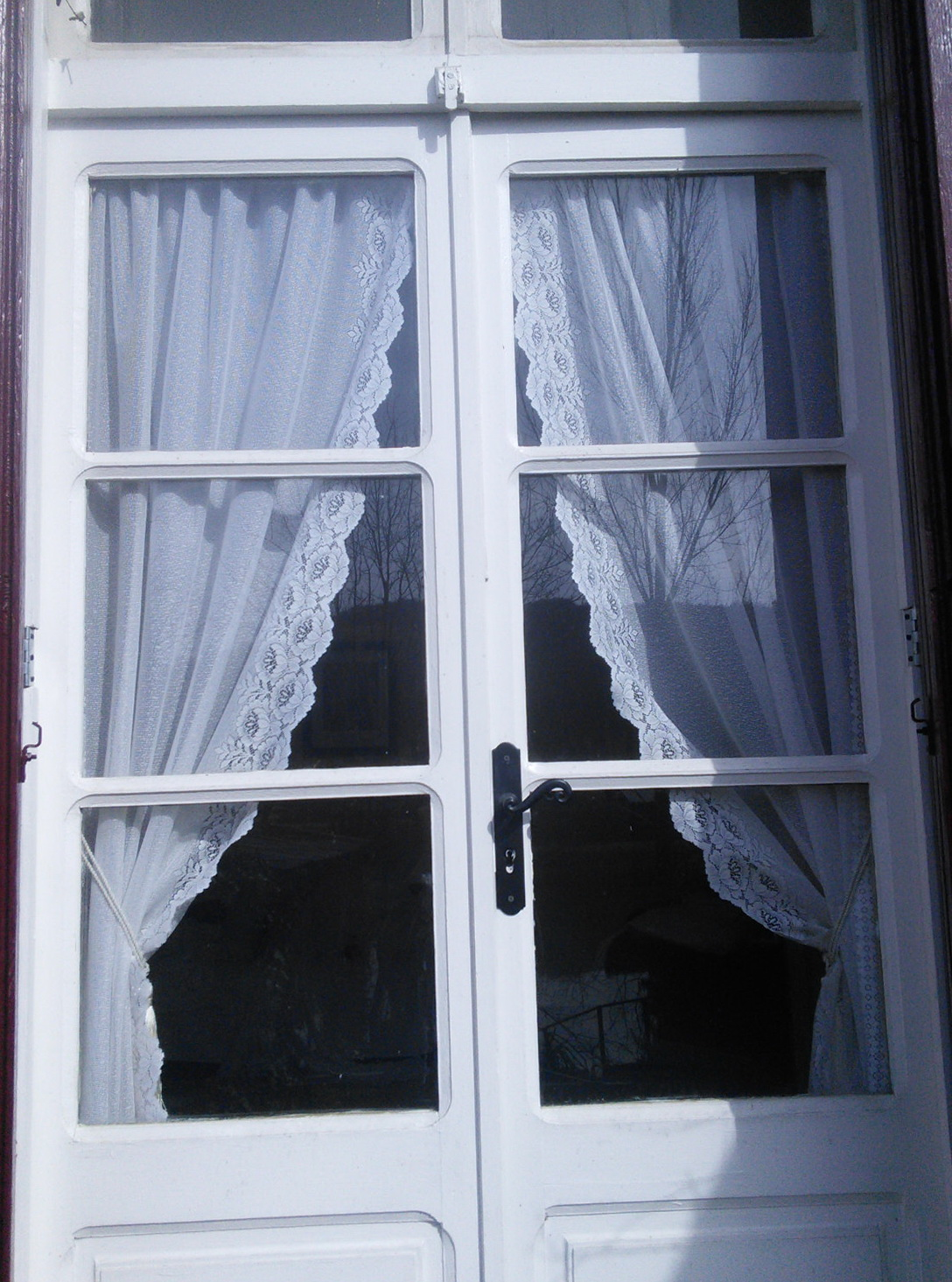 Vintage Lace Curtains Etsy