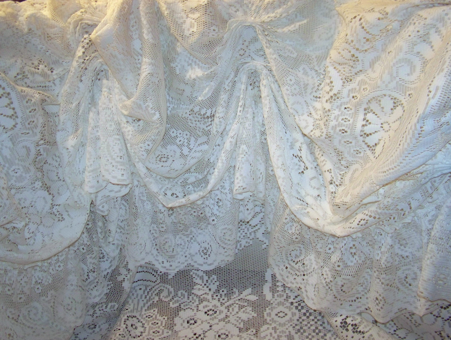 curtains of antique haute curtain linens clothing circa seller tambour buyer fine large vintage elaborate lace