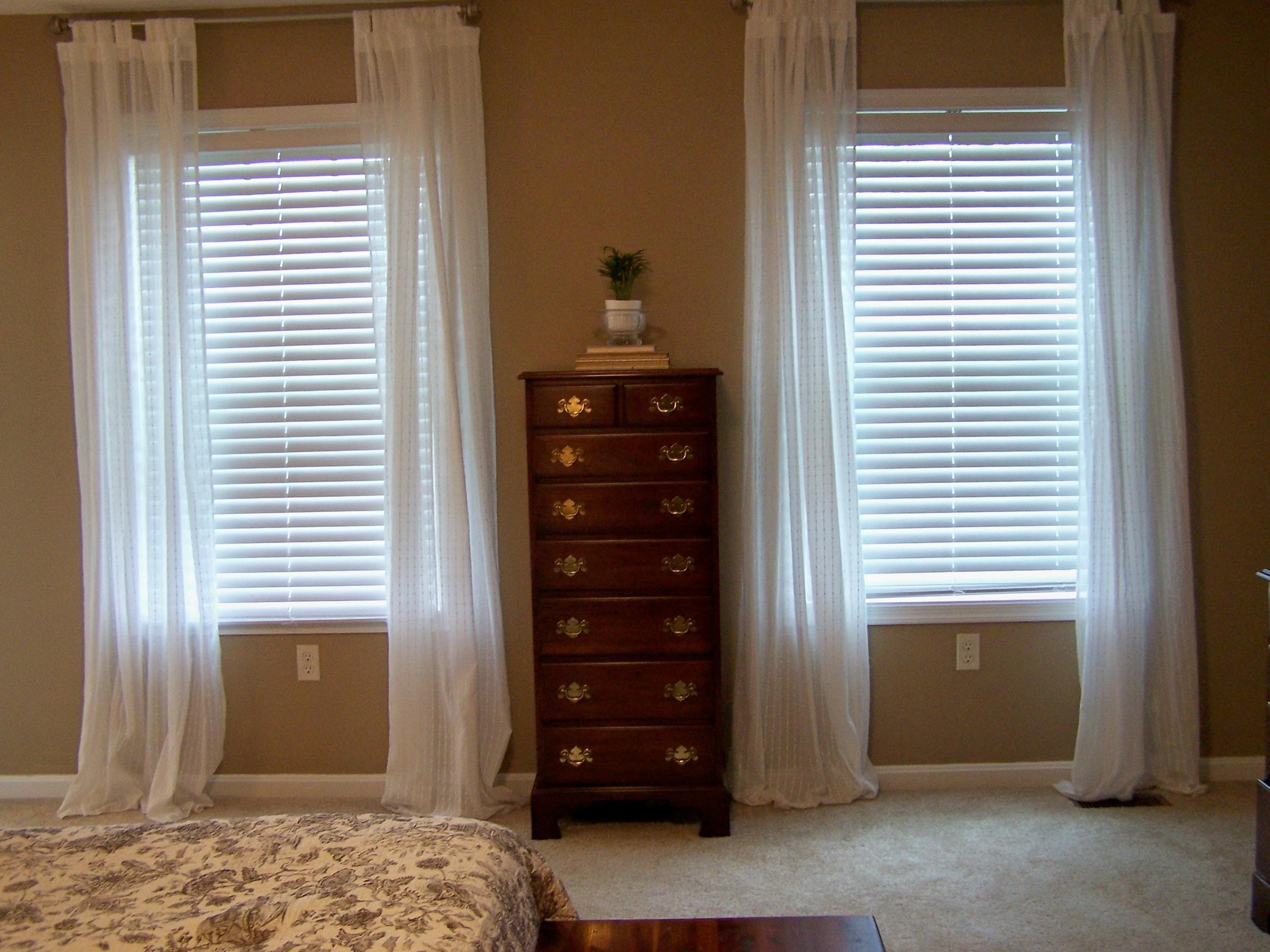 White Sheer Curtains Ikea