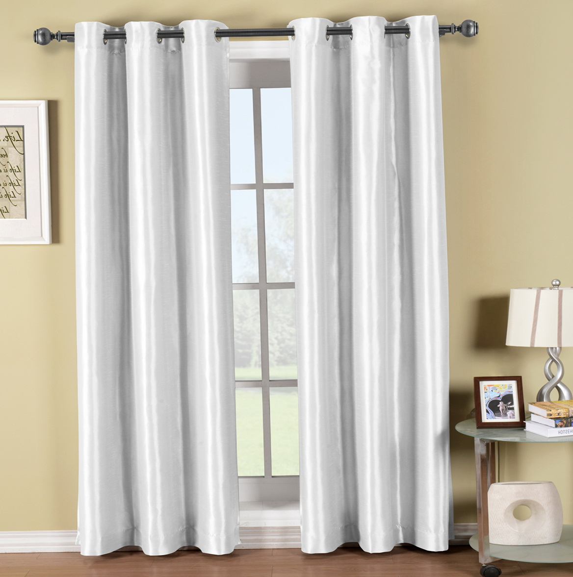 White Thermal Curtains 84 Home Design Ideas