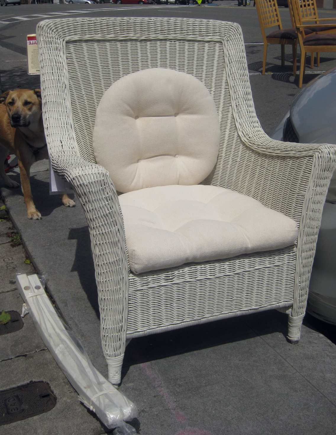 Perfect Wicker Chair Cushions Pier One