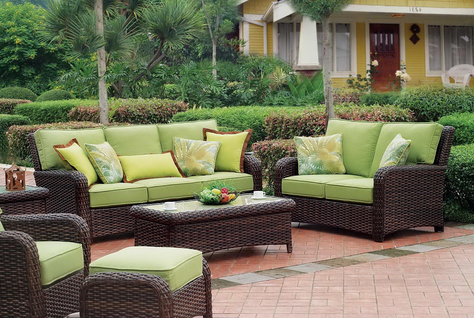 Wicker Furniture Cushions Clearance Home Design Ideas
