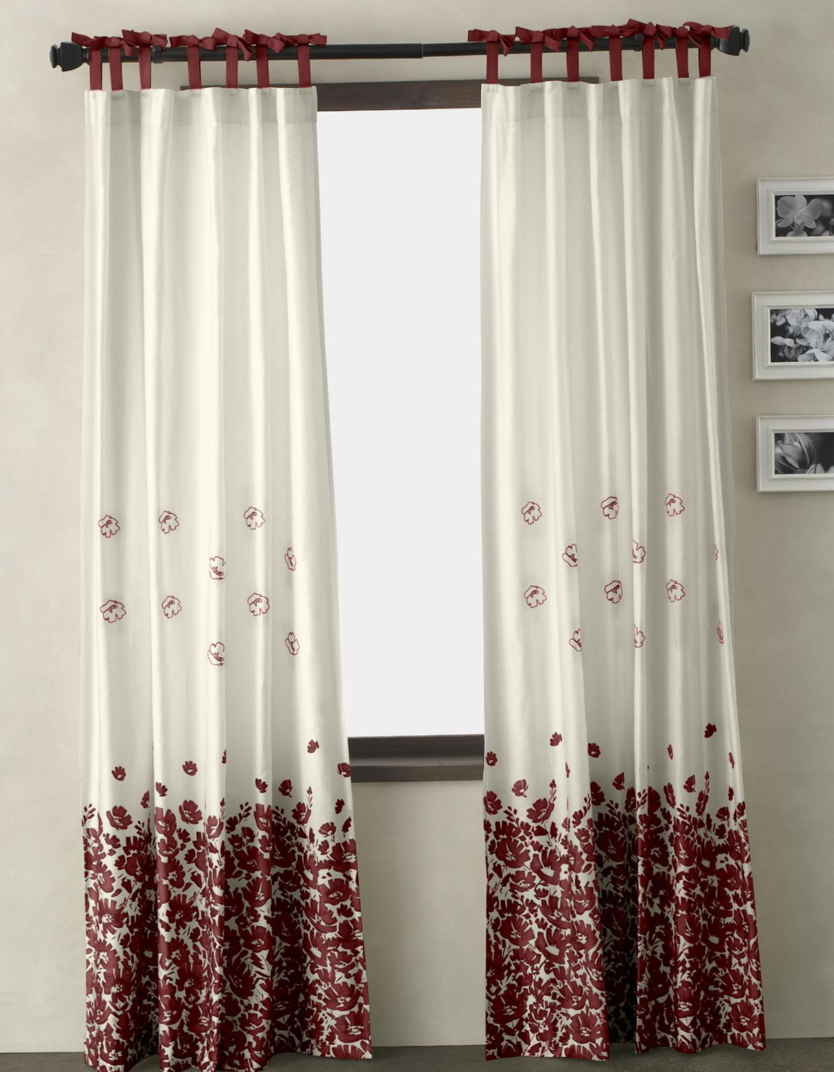 Window Panel Curtains Ideas