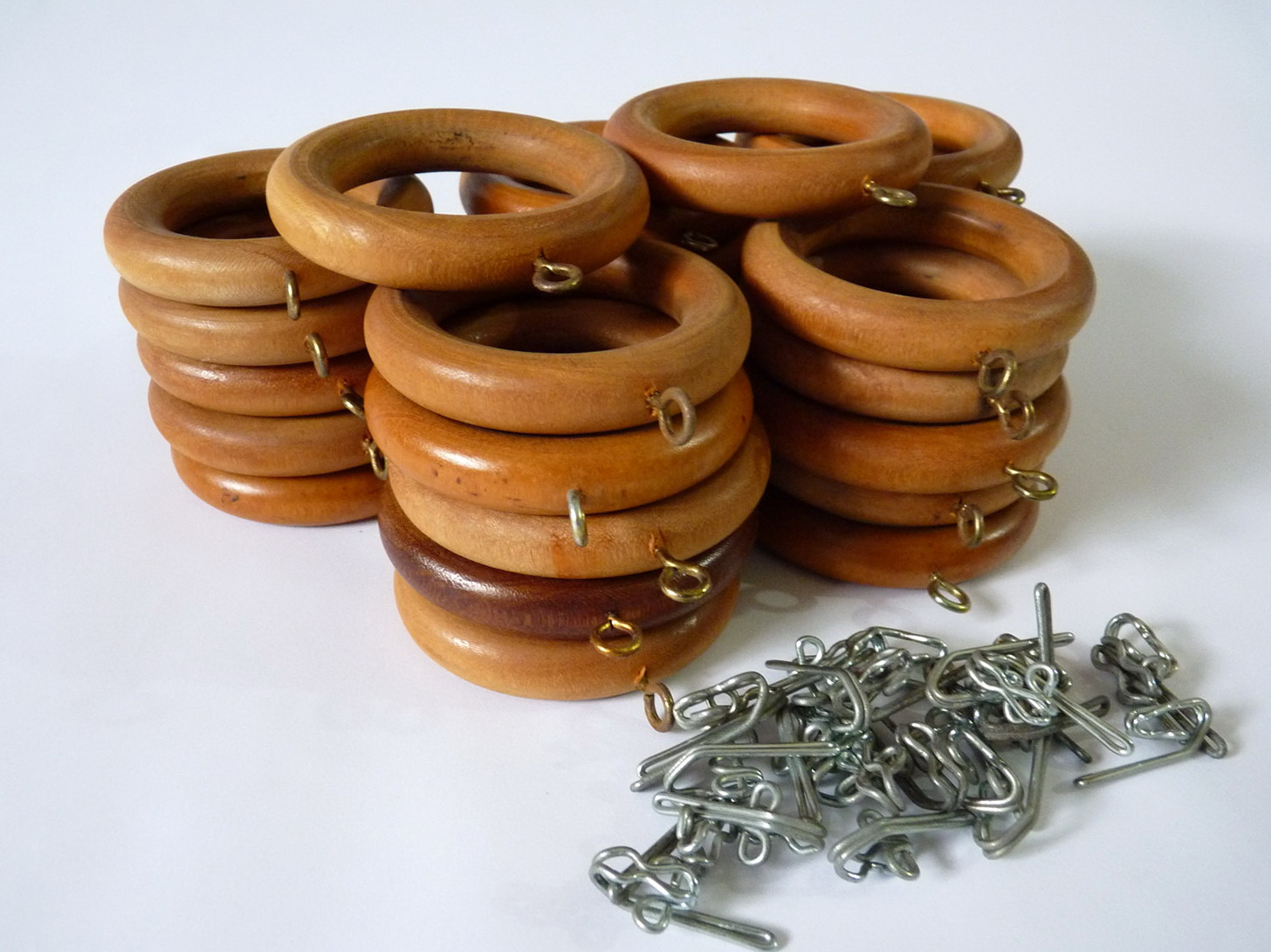 Wooden Curtain Rings With Eyelet Home Design Ideas