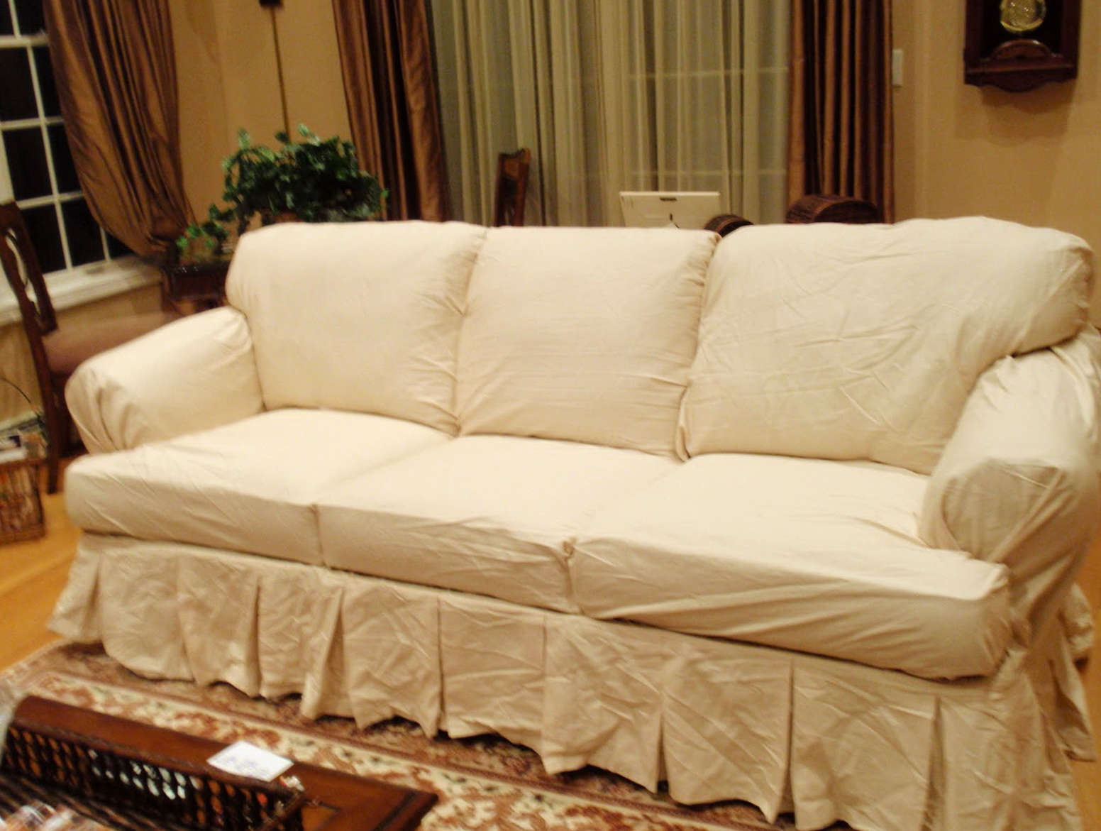 T Cushion Sofa Slipcovers Pottery Barn Slipcovers In Brand