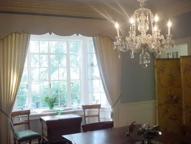 Adjustable Curtain Rods For Bay Windows