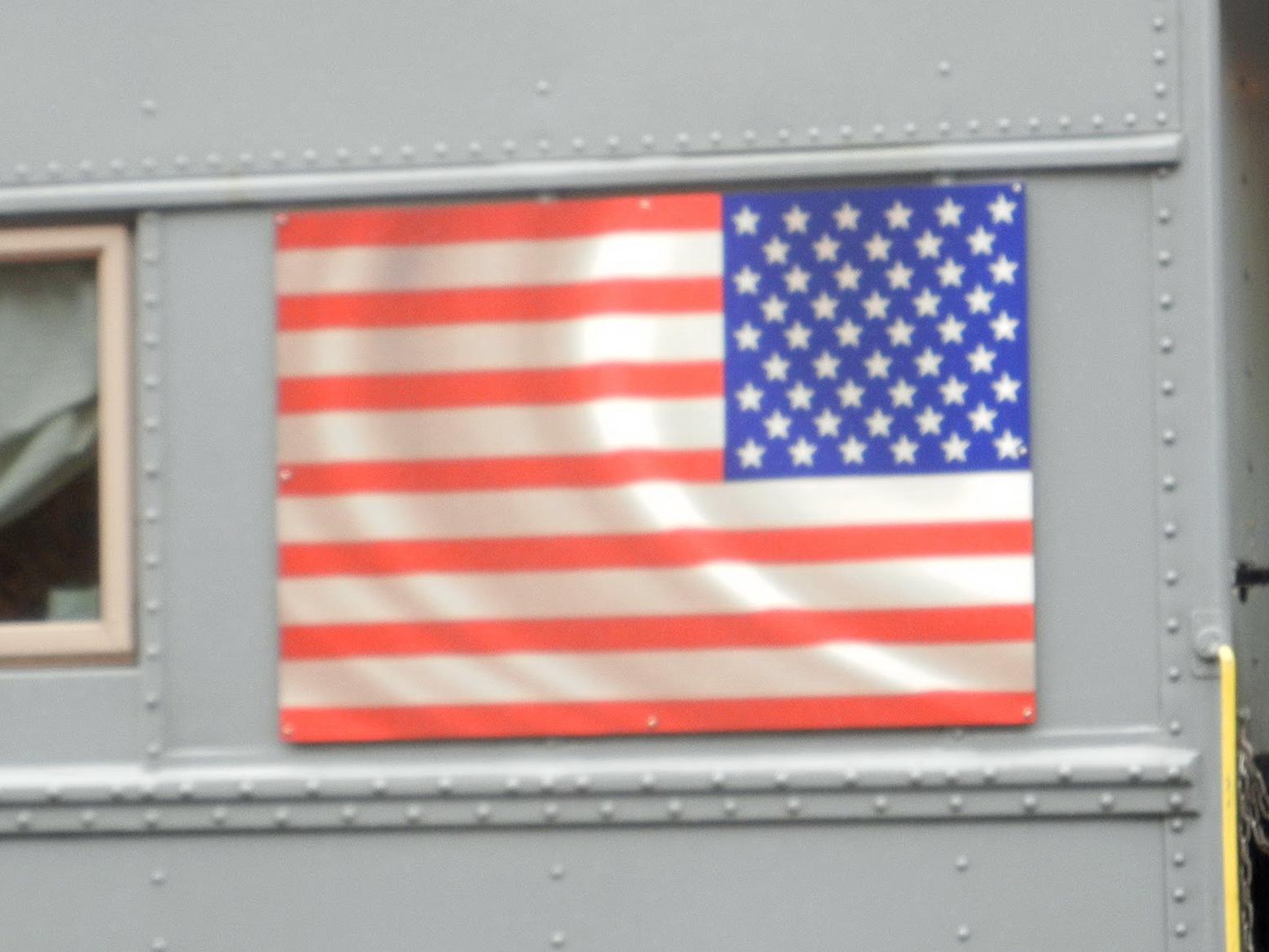 American Flag Window Curtains