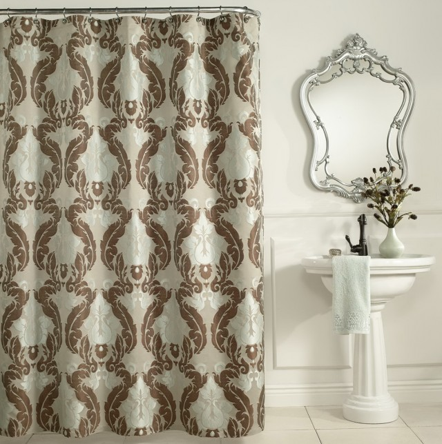 Baroque Shower Curtain