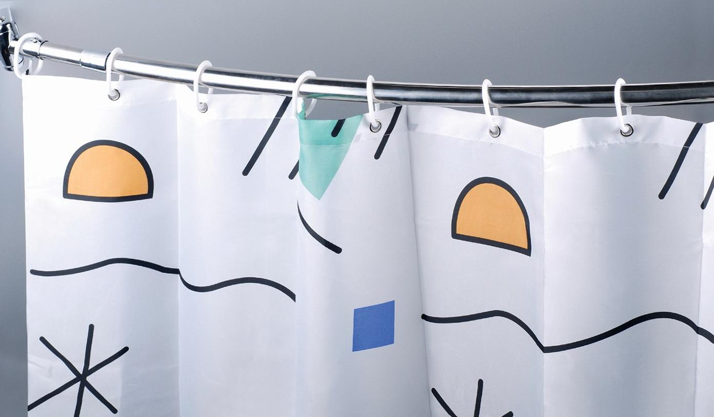 Bathroom Curtain Rods India