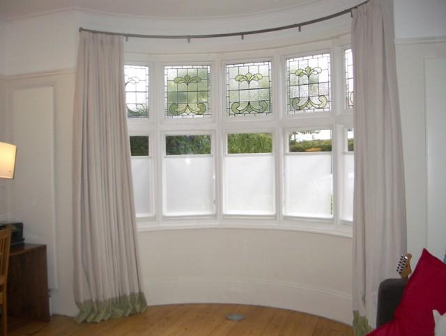 Bay Window Curtain Pole