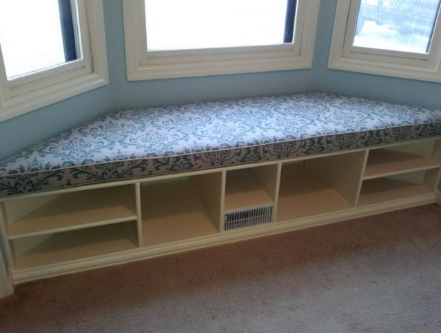 Bay Window Seat Cushion Trapezoid