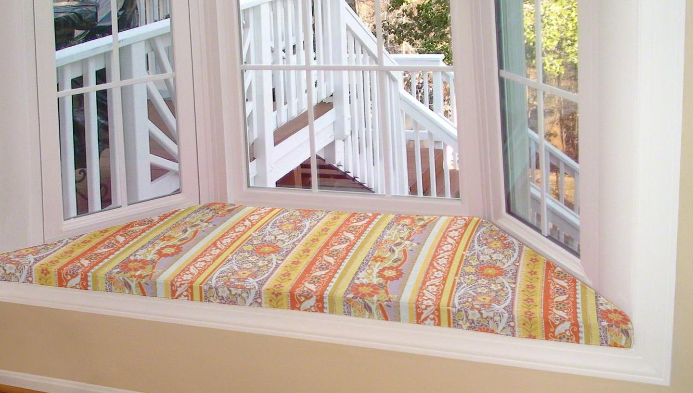 Bay Window Seat Cushion Tutorial