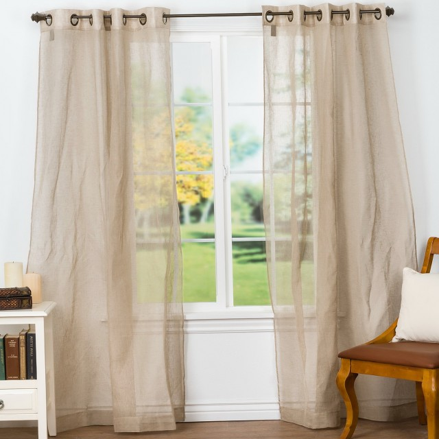Belgian Linen Curtains Sale