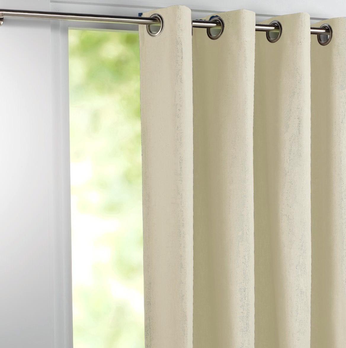 Bellagio Linen Curtains Natural Linen Blend