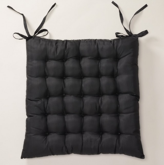 Black Chair Cushions Pads