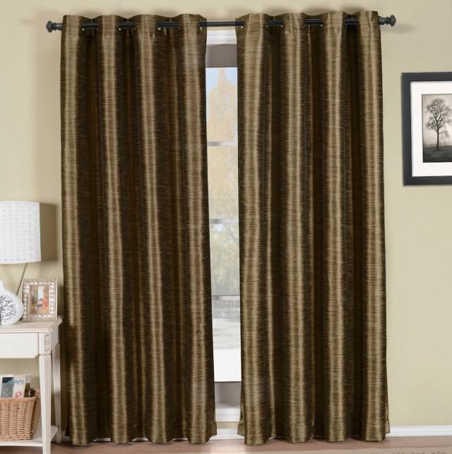 Blackout Grommet Curtains 108 Inch