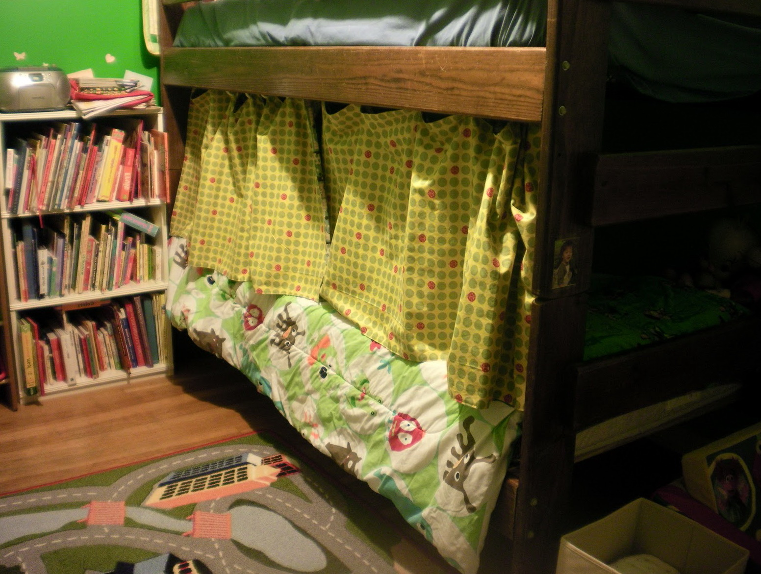 Bunk Beds With Curtains