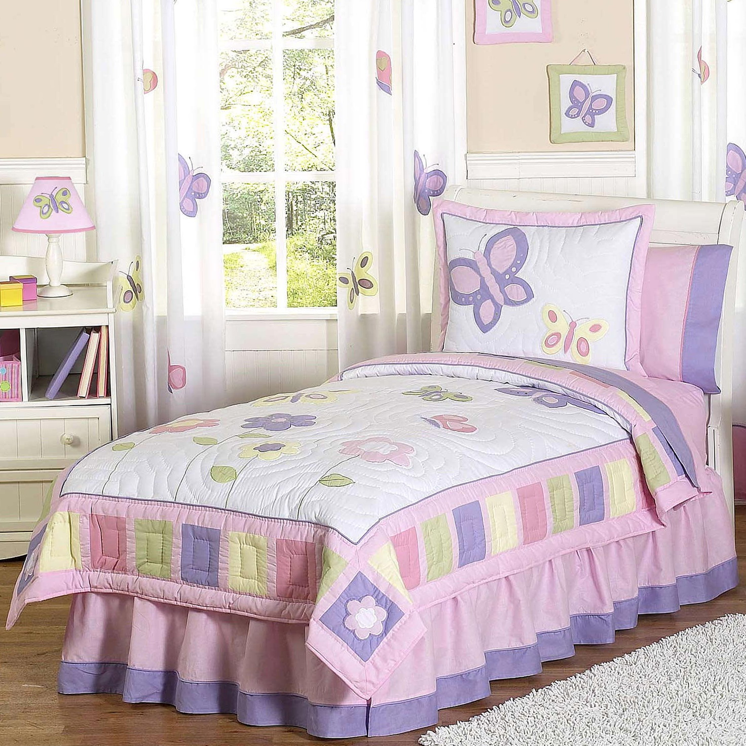 Butterfly Bedding With Matching Curtains Home Design Ideas
