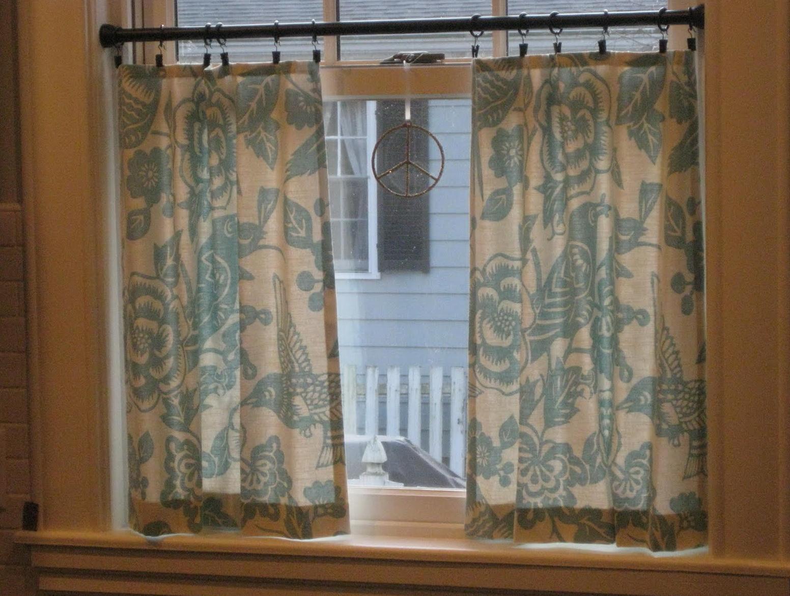 Cafe Curtain Rod Clips