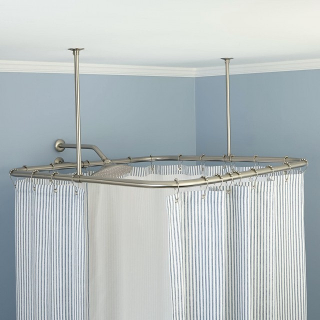 Ceiling Shower Curtain Track