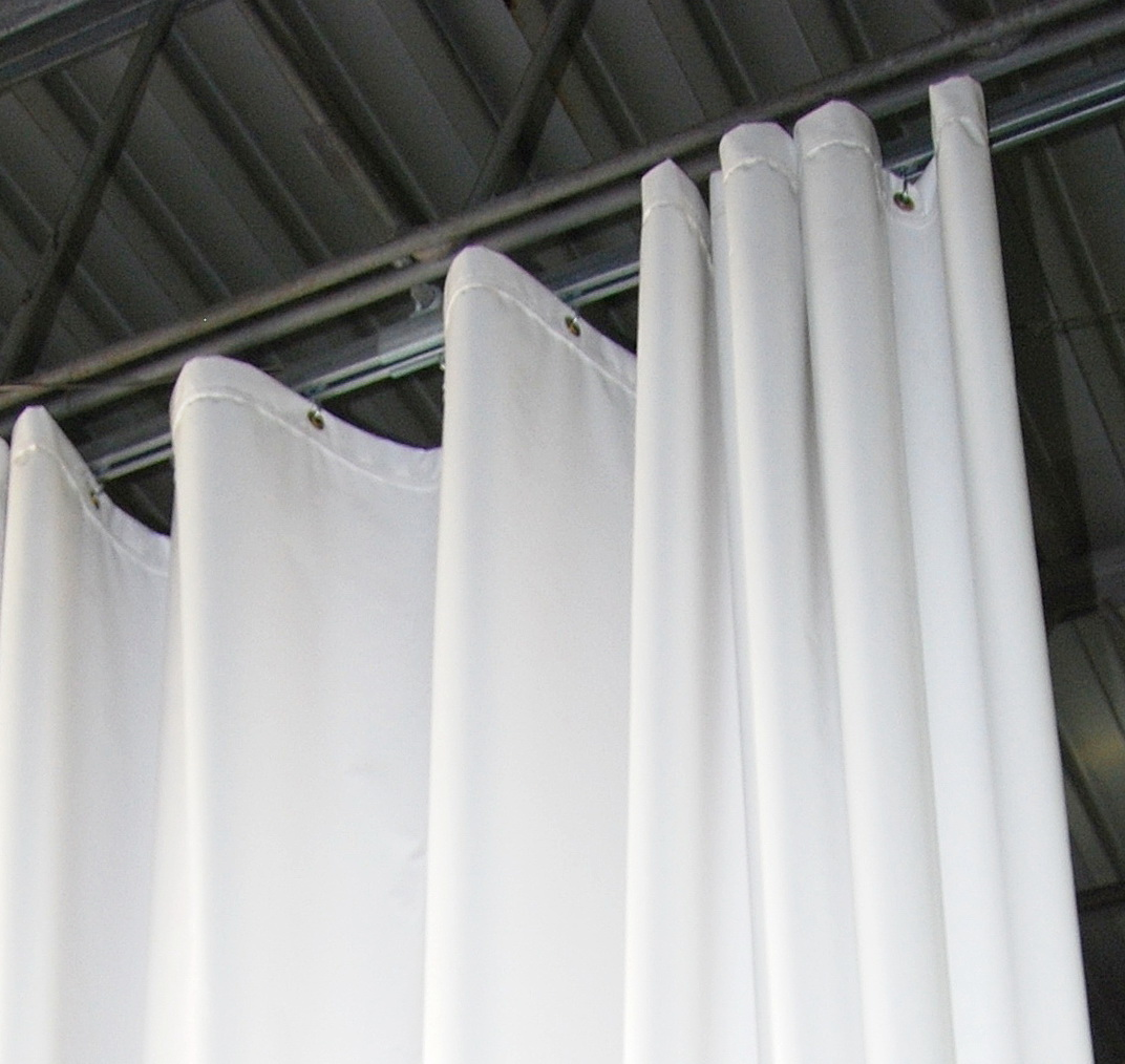 Ceiling Track Curtain Systems Home Design Ideas