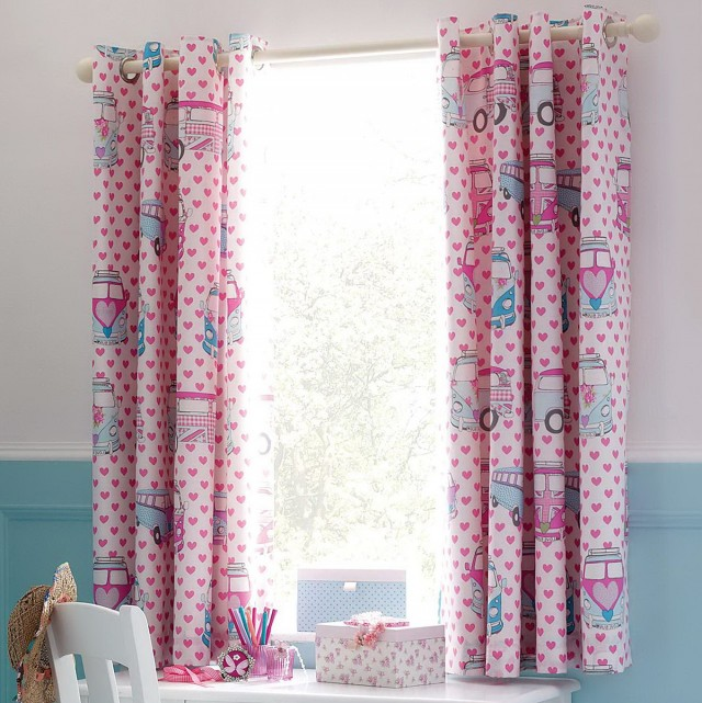 Childrens Blackout Curtains Eyelet