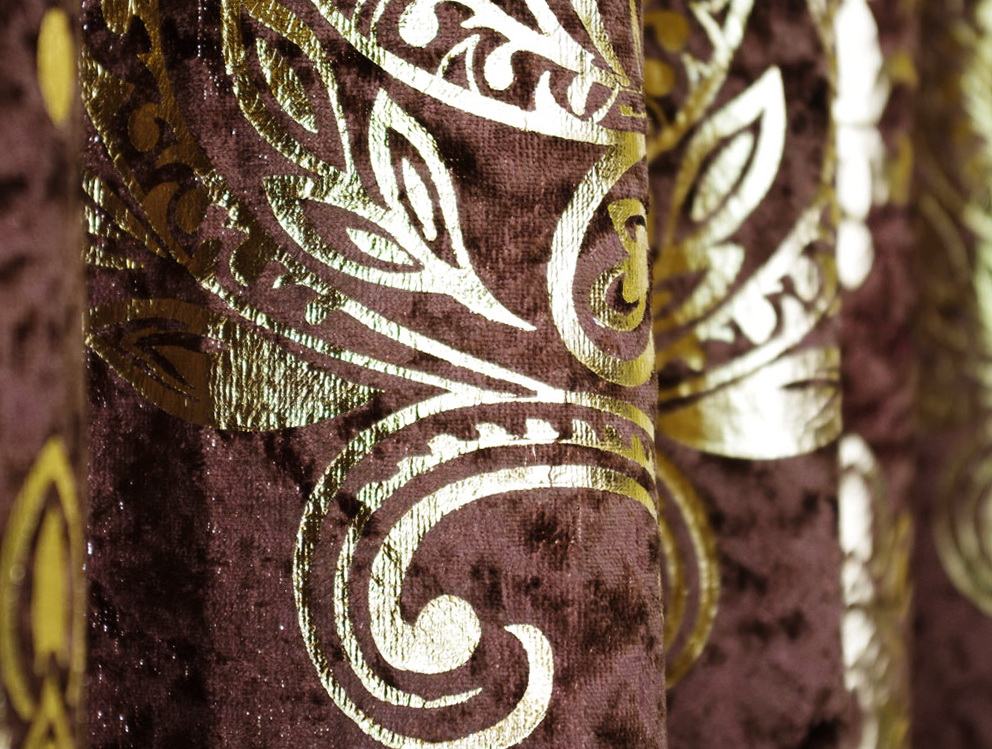 Chocolate Brown And Gold Curtains Home Design Ideas