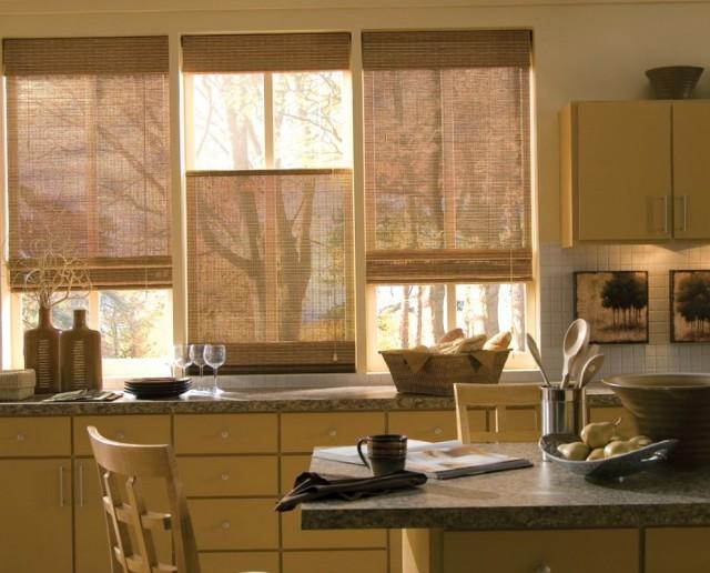 Contemporary Kitchen Curtains Ideas