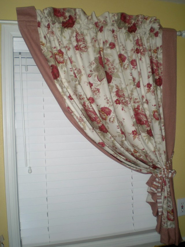 Country Material For Curtains