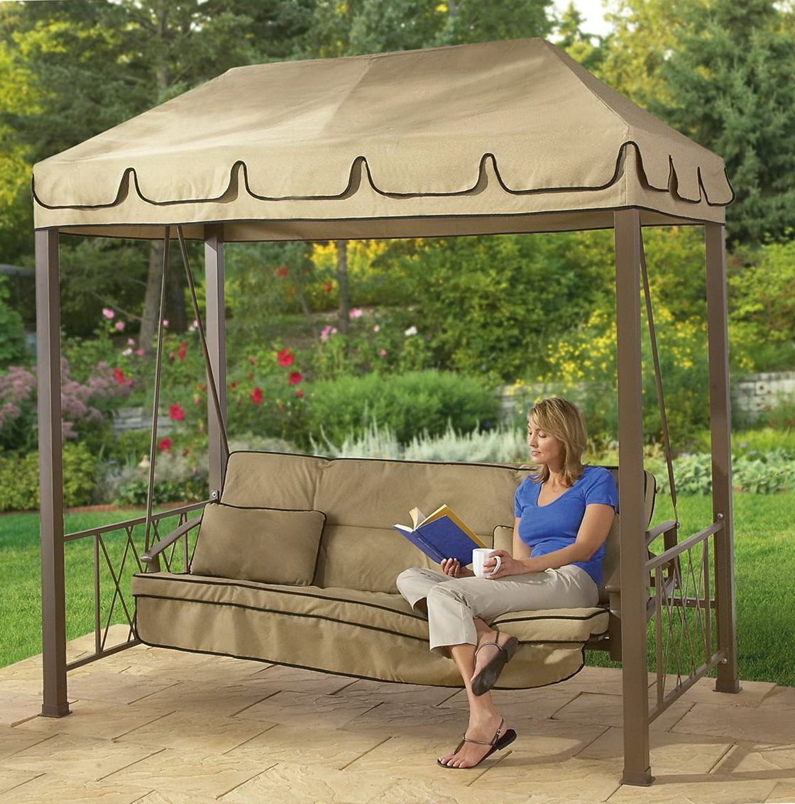 Courtyard Creations Replacement Cushions For Orbit Lounger