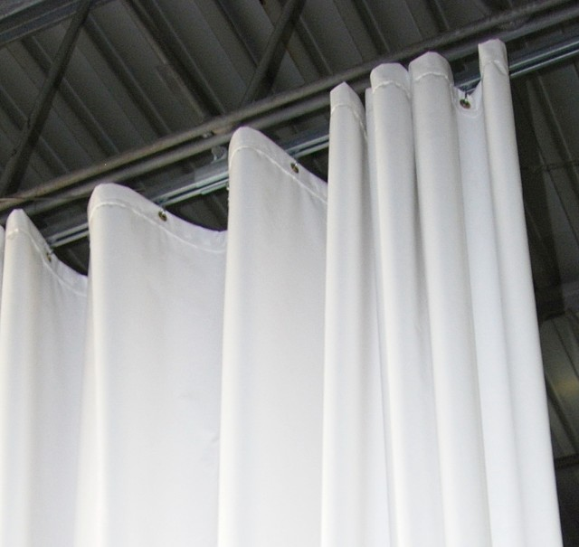 Cubicle Curtain Track Installation