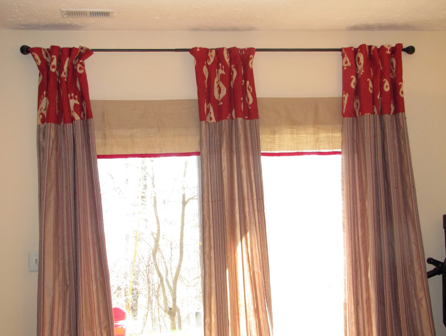 Curtain rod for sliding glass door home design ideas - Curtain options for sliding glass doors ...