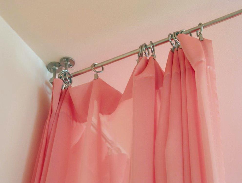 Curtain Rod Hangers Ceiling Home Design Ideas