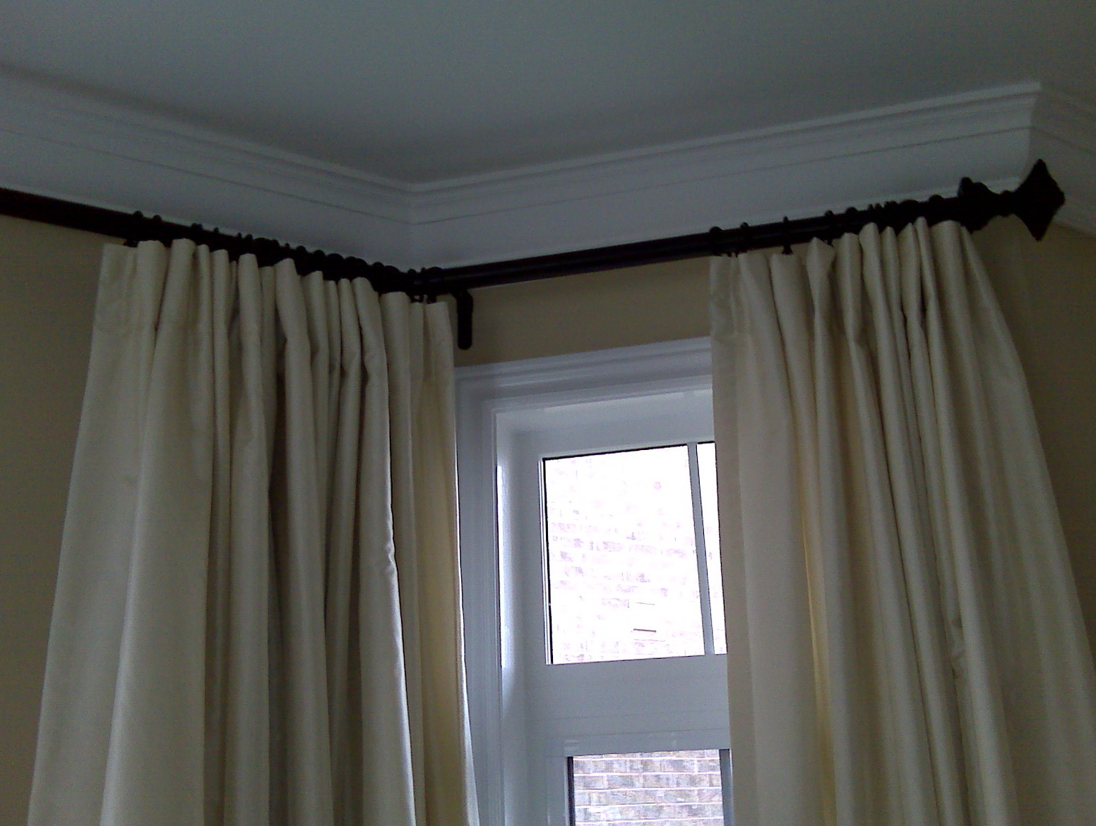 Drapery Installation Service : Curtain rod installation service home design ideas