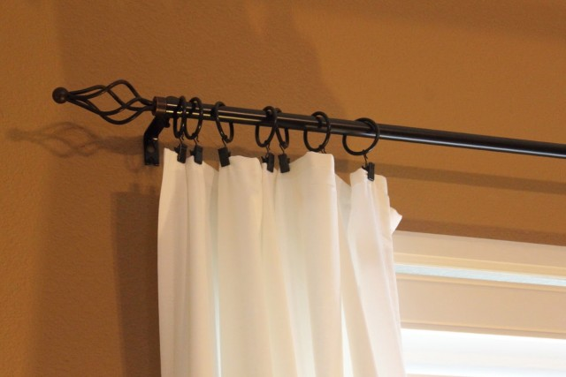 Curtain Rod Rings With Clips