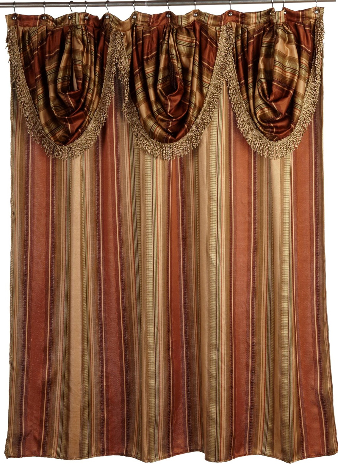 Curtain With Valance Attached Home Design Ideas
