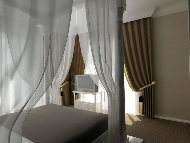 Curtains Around Bed Ideas