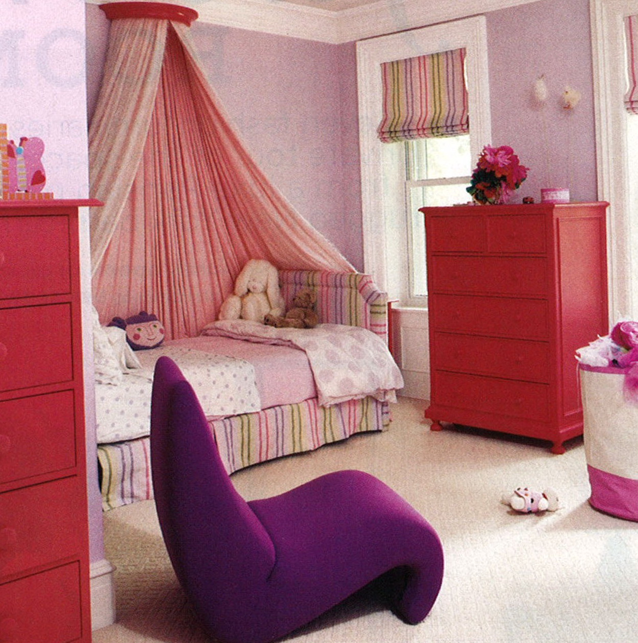 Curtains Around Bunk Bed