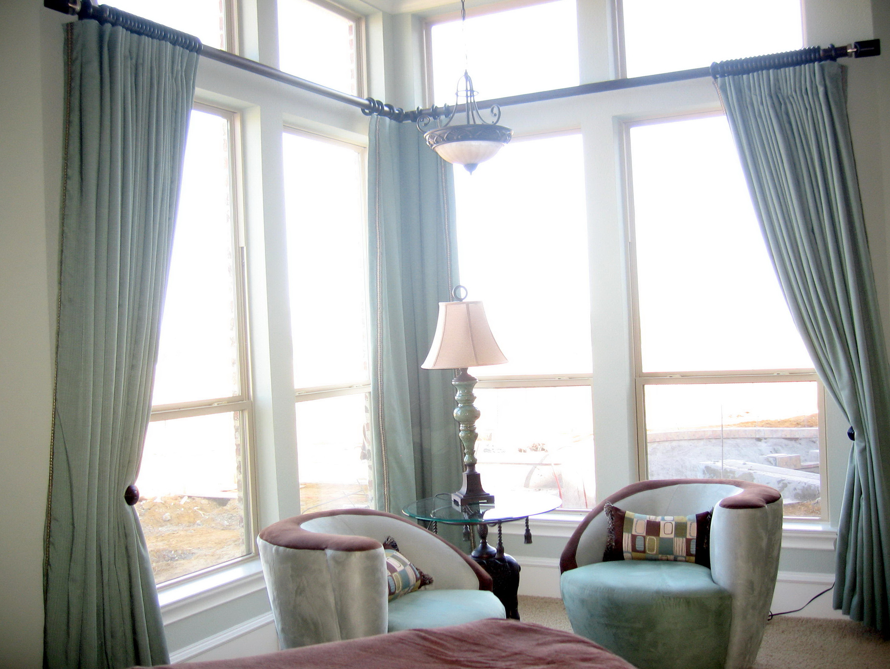 Curtains For High Ceiling Windows Home Design Ideas