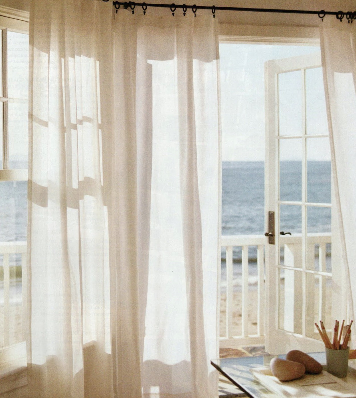 Curtains Over French Doors Home Design Ideas