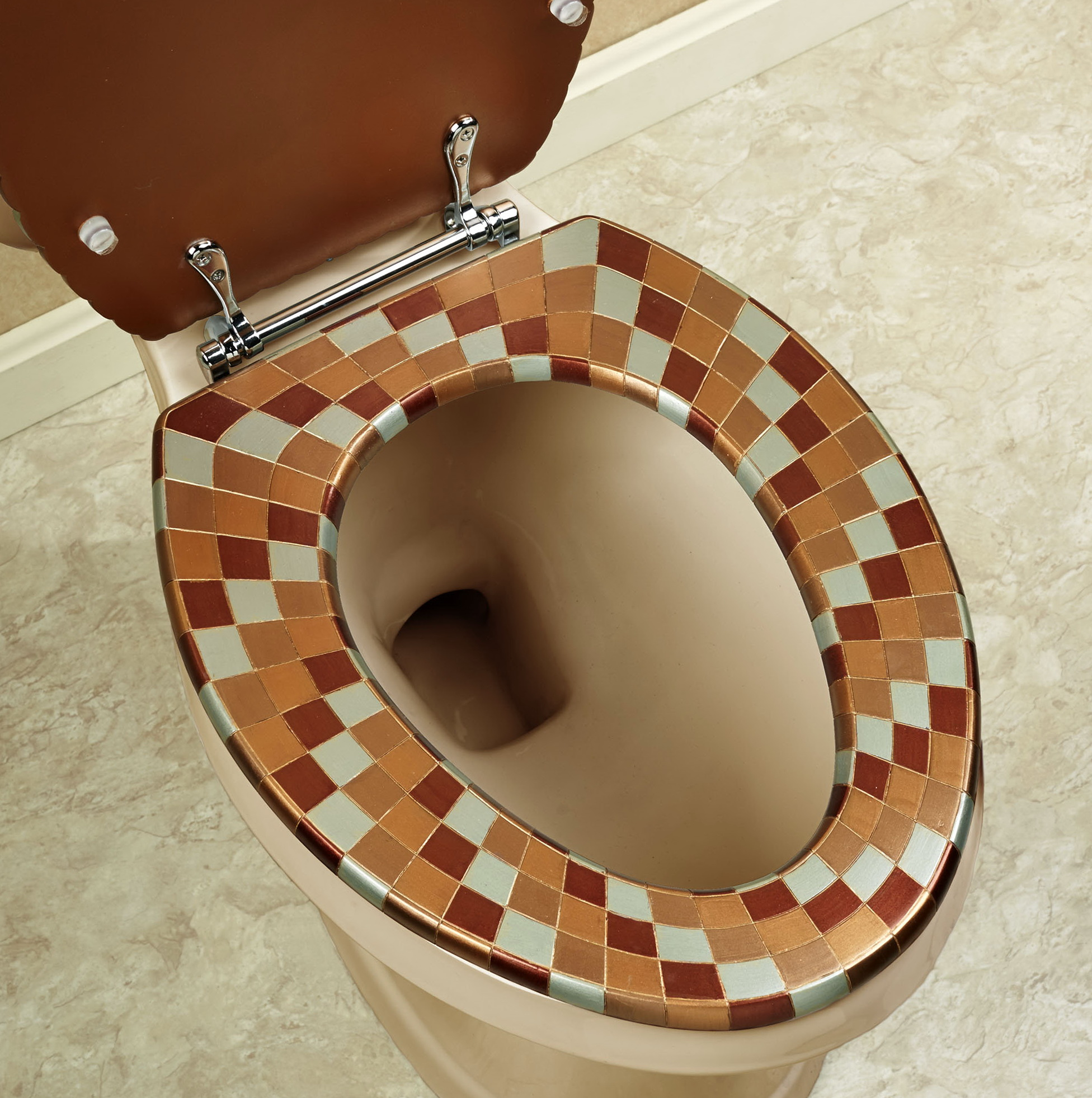Cushion Toilet Seat Elongated