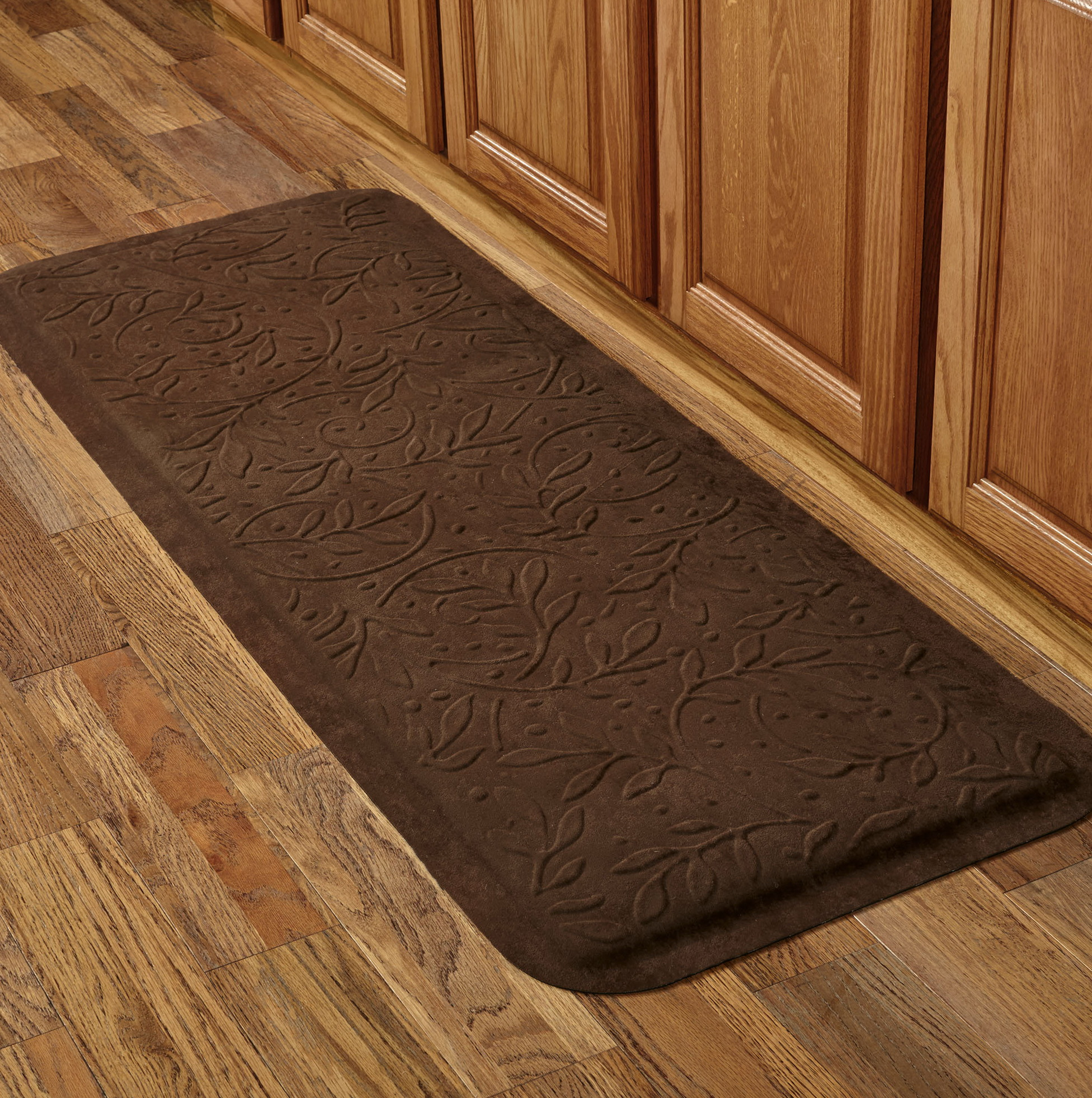 Cushioned floor mats for kitchen home design ideas for Cushion flooring for kitchens