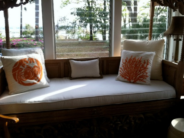 Custom Bench Cushion Covers